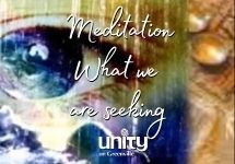 Meditation What we are seeking