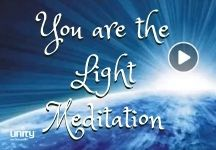 Meditation You are the light