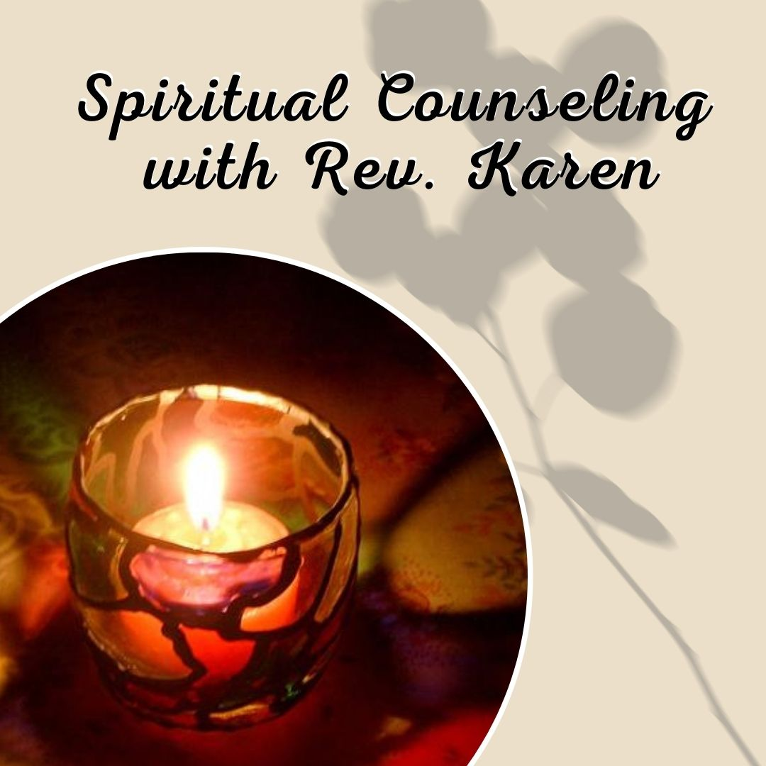 Spiritual Counseling by Rev. Karen
