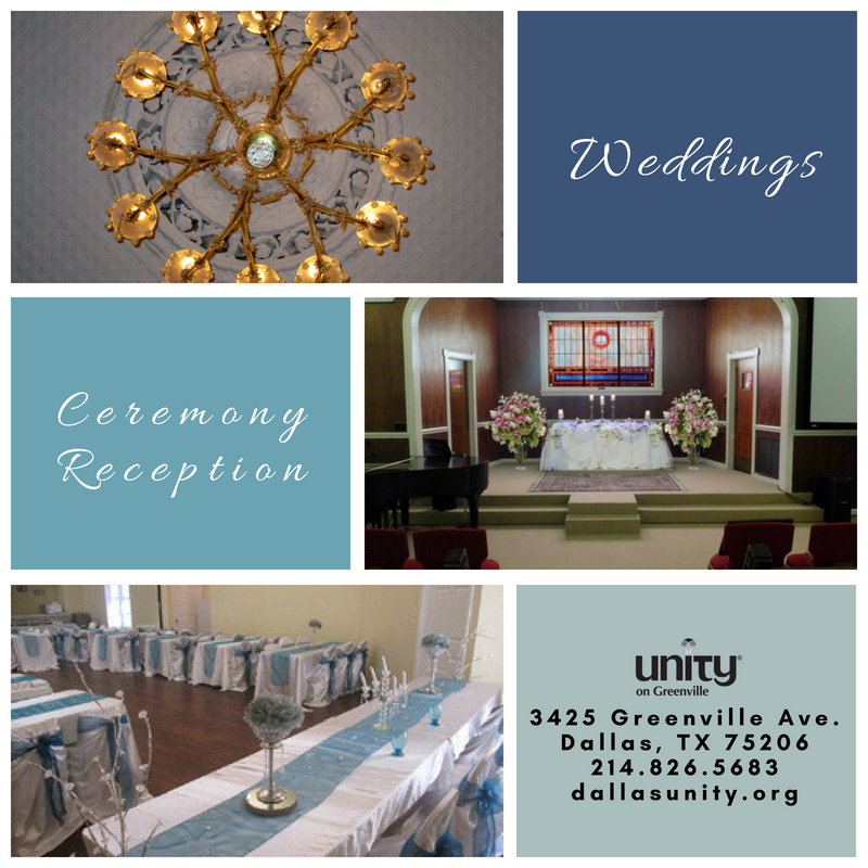 Weddings At Unity On Greenville Unity On Greenville